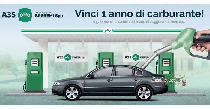 Vinci un anno di carburante gratis