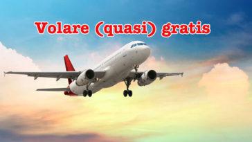 Volare (quasi) gratis