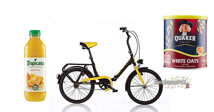 Concorso Tropicana: vinci biciclette pieghevoli DINO BIKES