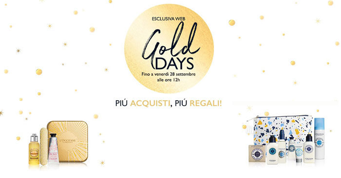 Gold Days L'Occitane