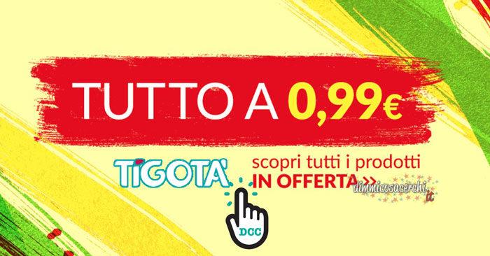 Prodotti in offerta a 0,99€ da Tigotà