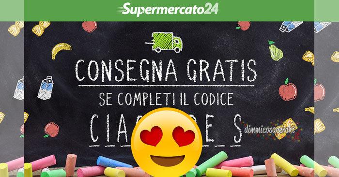 Supermercato24: consegna gratuita