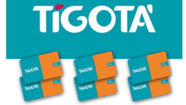Gift card Tigotà