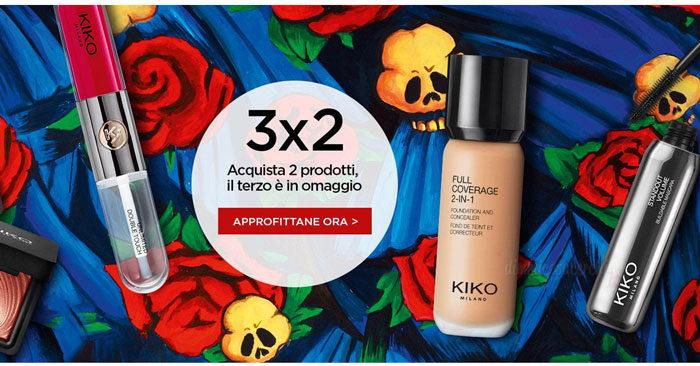 3 x 2 Kiko Cosmetics