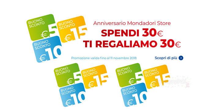Anniversario Mondadori Store