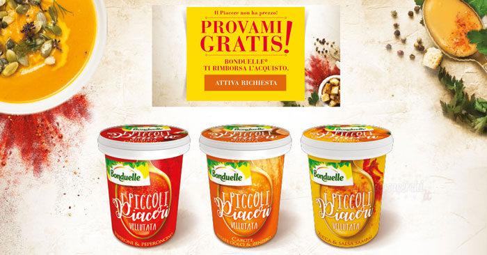 Bonduelle Piccoli Piaceri: provami gratis!