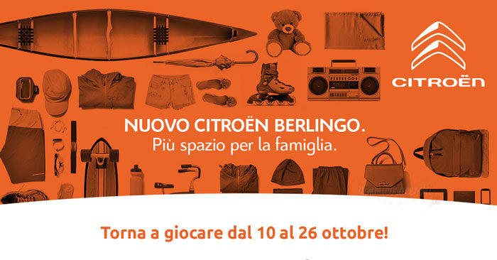 Concorso Berlingo Shopping Experience