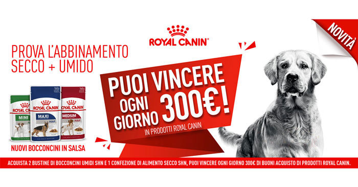 Concorso Bocconcini Vincenti Royal Canin
