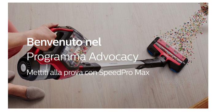 Concorso Philips SpeedPro Max