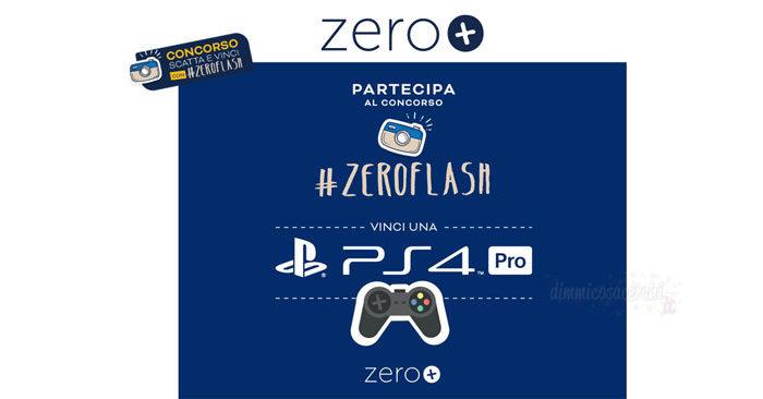"""Concorso """"Scatta e vinci con Zero Flash"""""""