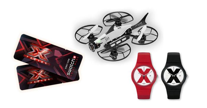 Concorso #SwatchThis: vinci droni, orologi e X-Factor