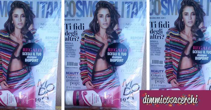 Cosmopolitan con shampoo Biopoint
