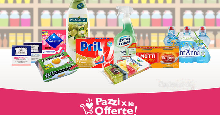 Coupon Palmolive, Acqua alle Rose, Mutti, Pril e altri