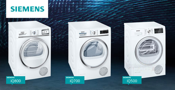 Diventa tester asciugatrici Siemens iSensoric con The Insiders