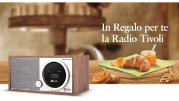 Mulino Bianco: vinci Radio Tivoli One Digital