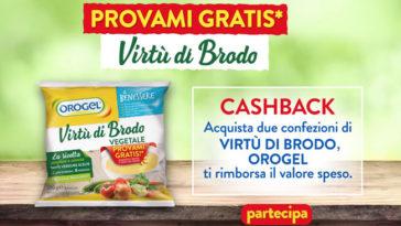 """Orogel Virtu di Brodo """"Provami gratis"""""""