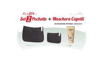 Rivista Chi con maschera Biopoint + Pochette