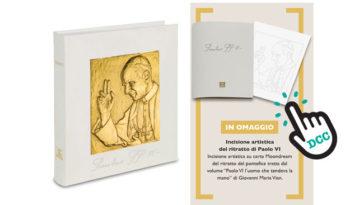 Stampa artistica di Paolo VI in omaggio