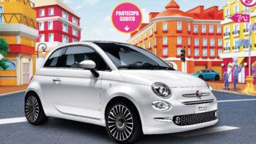 Vinci Fiat 500 con Barbie