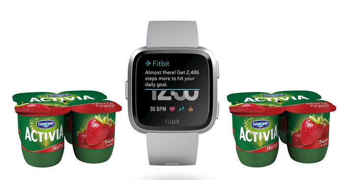 Vinci Smartwatch fitbit con Activia