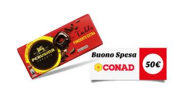 Vinci buoni spesa Conad con Tablò Perugina