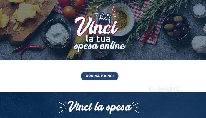 Vinci la spesa online con Carrefour.it
