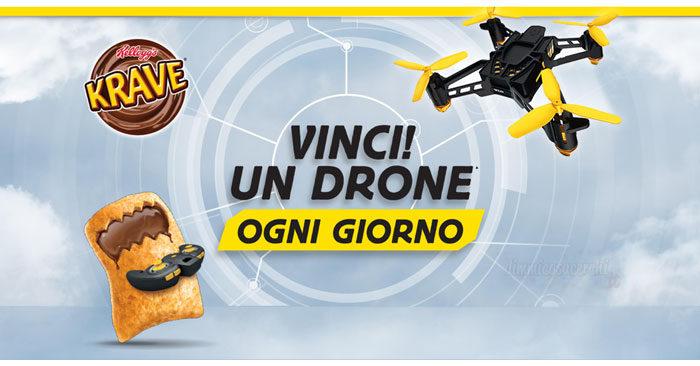 Vinci un Drone con Kelloggs