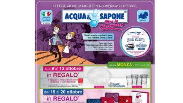 Volantino Acqua&Sapone Oltre la Convenienza (fino al 21 ottobre)