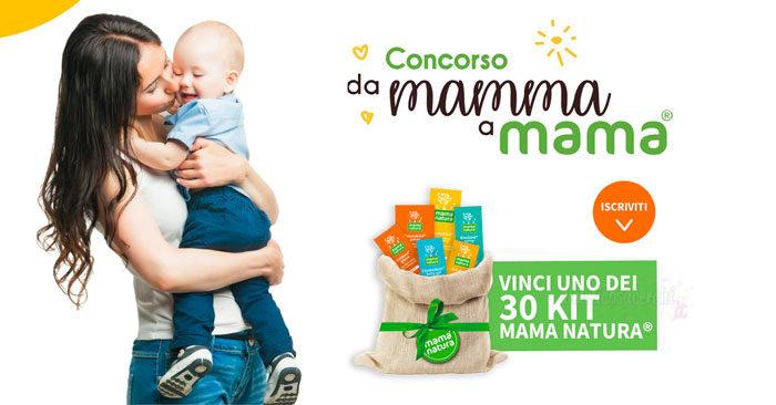 """Mama natura: concorso """"Da mamma a Mama"""""""
