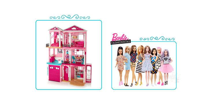 Concorso Barbie: vinci bambole e case dei sogni