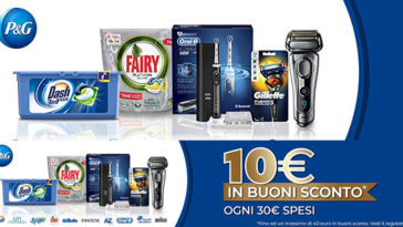 Spendi e Riprendi Amazon e P&G