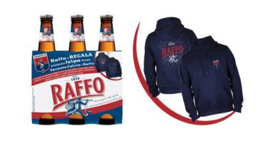 Birra Raffo felpa Taranto Calcio
