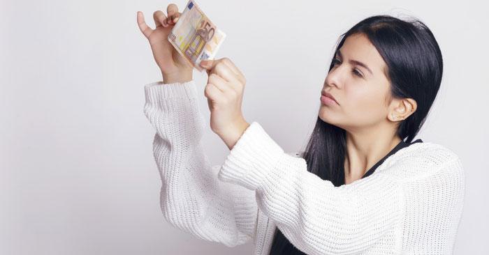 Come riconoscere una banconota falsa