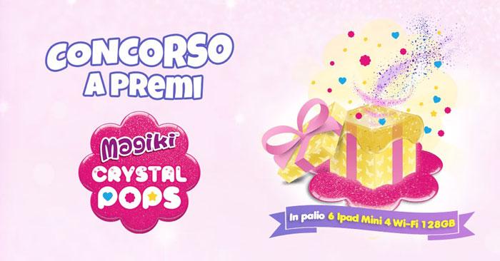 """Concorso De Agostini """"Magiki Crystal Pops"""""""