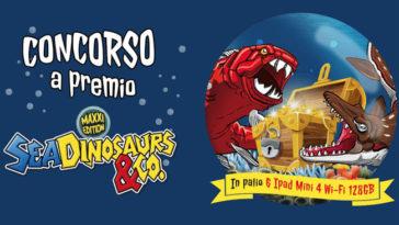 "Concorso De Agostini ""Sea Dinosaurs"""