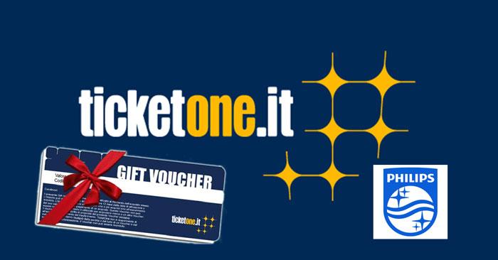 5Gift Voucher TicketOne.it da 50 €