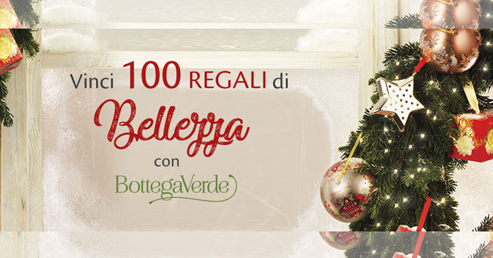 Concorso Radio Italia: vinci 100 premi Bottega Verde