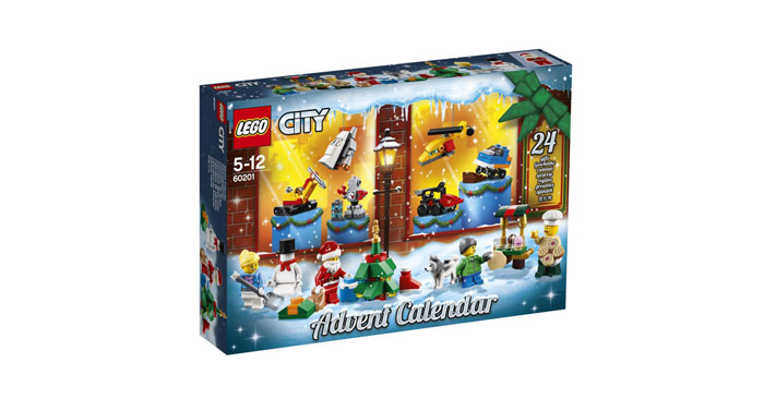 Lego City Calendario dell'Avvento