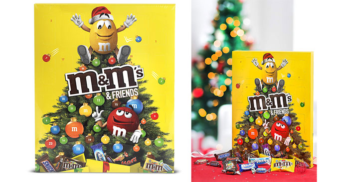 M&M's Friends Calendario dell'Avvento