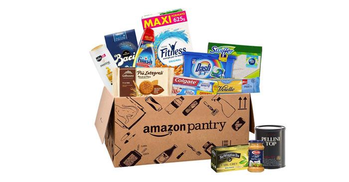 Scatole Amazon Pantry scontate