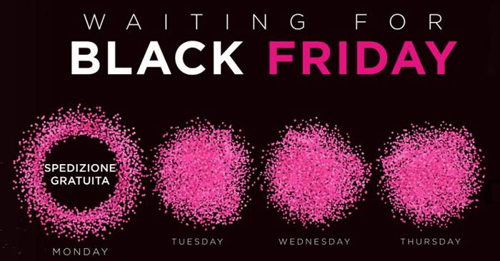 Spedizione gratuita Black Friday Yamamay