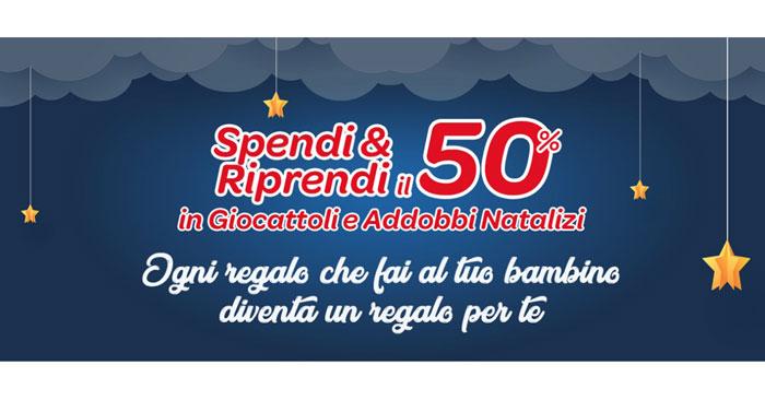 Spendi&Riprendi Carrefour giocattoli