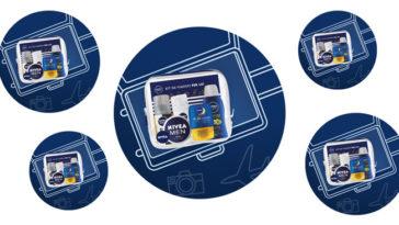 Vinci gratis travel kit Nivea Men