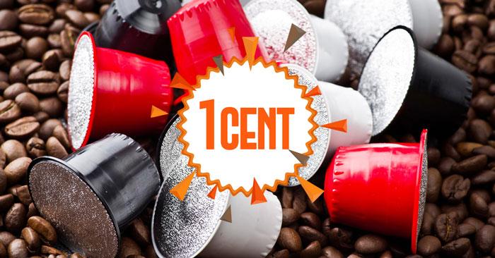 Caffè Italiano: 30 capsule a solo 1 cent