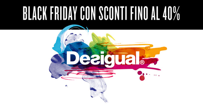 Black Friday Desigual