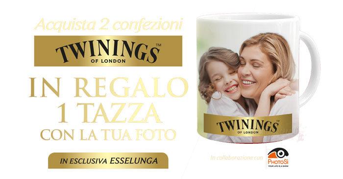 Twinings tazza foto premio sicuro