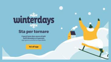 "Calendario dell'Avvento Mc Donalds ""Winterdays"""