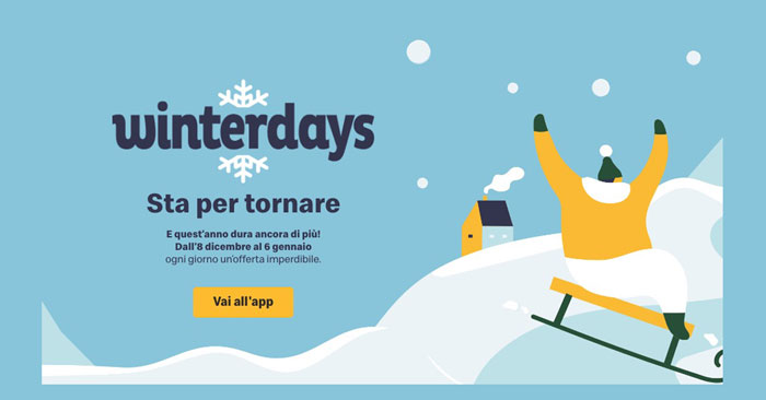 "Calendario dell'Avvento Mc Donalds ""Winterdays"""