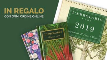 Calendario e Agendina 2019 L'Erbolario