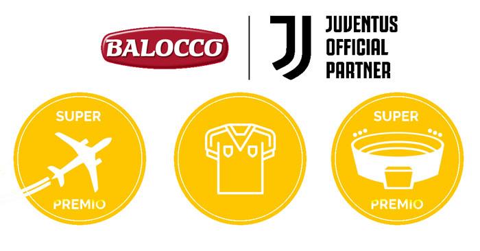 Concorso Balocco: vinci premi Juventus